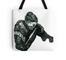 Vigilant [Pen Drawn Figure Illustration] Tote Bag