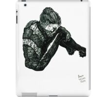 Vigilant [Pen Drawn Figure Illustration] iPad Case/Skin