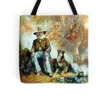 The Singing Swaggie - Waltzing Matilda Series Tote Bag