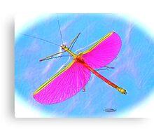 "Plasma ""Phasma"" ~ The Winged Phantom! Canvas Print"