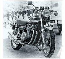 Kawasaki Z900 motor ccle Poster