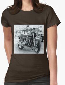 Kawasaki Z900 motor ccle Womens Fitted T-Shirt