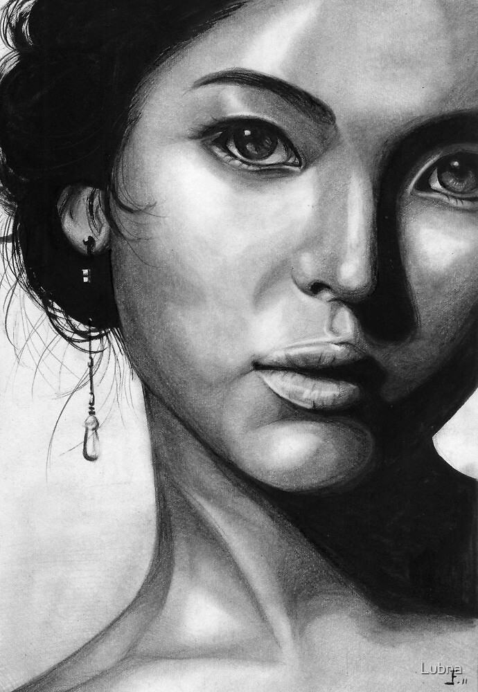 Song Hye Kyo Black and white by Lubna