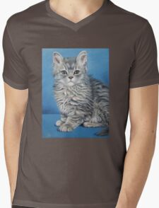 Velvet Kitten Victoria Mens V-Neck T-Shirt
