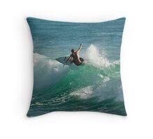 Big Wave Friday #4 Throw Pillow