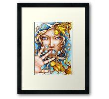 Den Lille Havfrue Framed Print