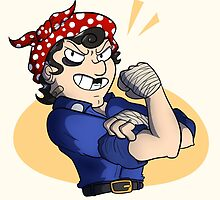 Rosie the Riveter by TheCatt