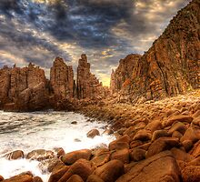 The Pinnacles, Woolamai Phillip Island by Philip Greenwood