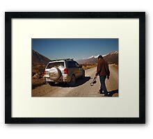 Unfinished Journey Framed Print