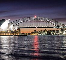 Sydney Icons at Sunset by AlChris