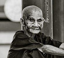 Nha Trang monk  by Thomas Jeppesen