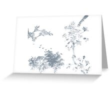 Sumi-e inspired (01) Greeting Card
