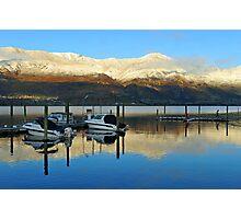 Sunrise at Wanaka . South Island, New Zealand.  Photographic Print