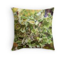 Symbiotic Blossoms Throw Pillow