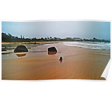Glassy beach Poster