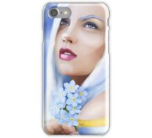 Forget me not Fae iPhone Case/Skin