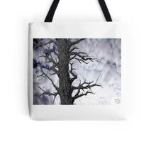 Dark Tree [Pen and Digital Illustration] Tote Bag