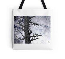 Dark Tree [Pen and Digital Illustration] Tote Bag