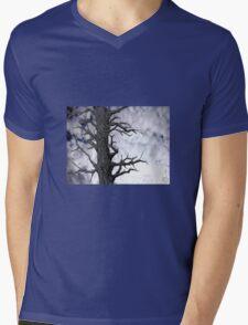 Dark Tree [Pen and Digital Illustration] Mens V-Neck T-Shirt