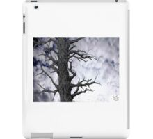 Dark Tree [Pen and Digital Illustration] iPad Case/Skin