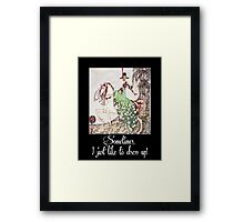 Dress Up Framed Print
