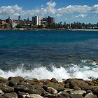 Looking toward Manly by Antoine de Paauw