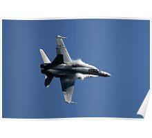 RAAF F/A 18 Hornet High G Turn Poster