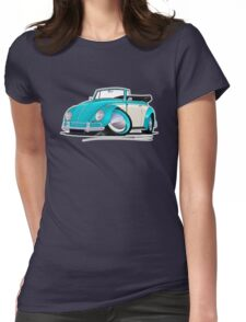 Volkswagen Beetle Cabriolet (2-Tone) Turquoise T-Shirt