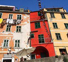 Riomaggiore - Cinque Terre, Italy by Ruth Durose