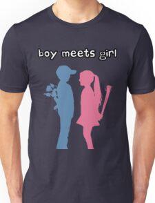 Boy Meets Girl Unisex T-Shirt