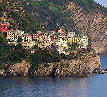 Corniglia - Cinque Terre, Italy by Ruth Durose