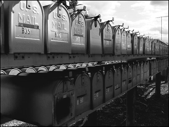 Boycott Texting : Mailbox love  ( Trailer Park America Series)  by Isa Rodriguez