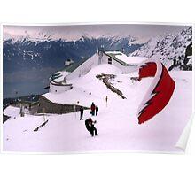 Paraglider, Innsbruck Poster