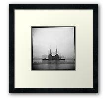 battersea power station II Framed Print