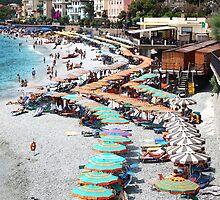 Monterrosso - Cinque Terre, Italy by Ruth Durose