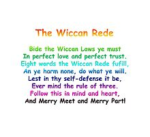 The Wiccan Rede by TeesandTops