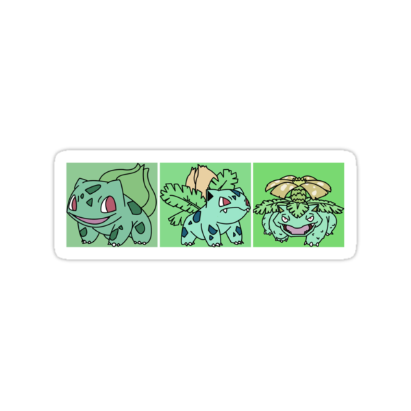 Bulbasaur Evolution by Malachai