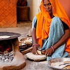 Roti Maker, Jaipur by nekineko