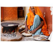 Roti Maker, Jaipur Poster