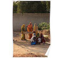 Indian builders & child minders Poster