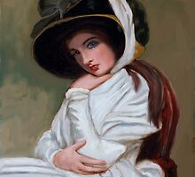 Emma Hamilton after George Romney by MayWebb