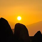Castlerigg Stone Circle Sunset by Jacqueline Wilkinson