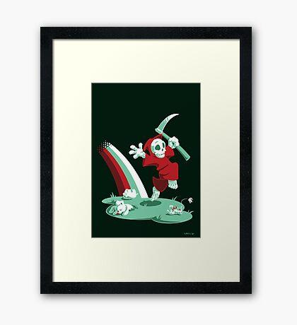 The Joy of Death Framed Print