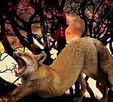 Big Red Fox Stretch (Edit in psp) by DutchLumix