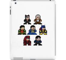 8-bit Batman Family iPad Case/Skin