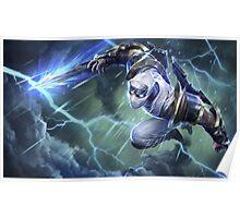 Shockblade Zed - League of Legends Poster