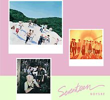 SEVENTEEN - BOYS BE. by mcholler