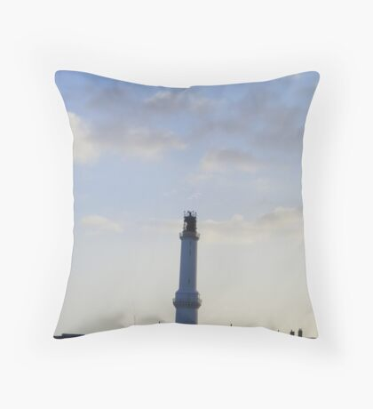 the torry lighthouse Throw Pillow