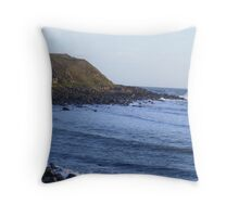a typical highland scene Throw Pillow