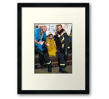 Party boys Framed Print